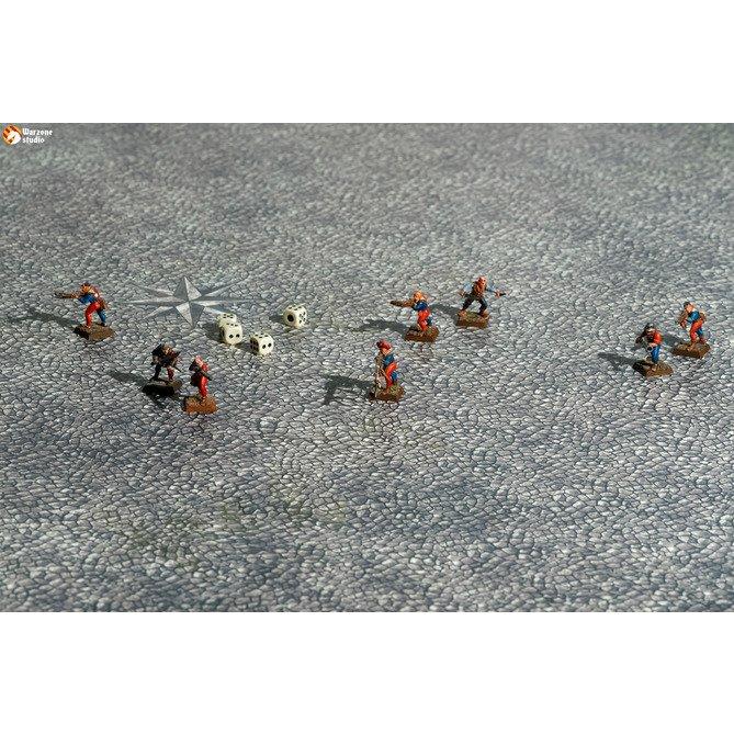 Battle mat: Cobblestone Center
