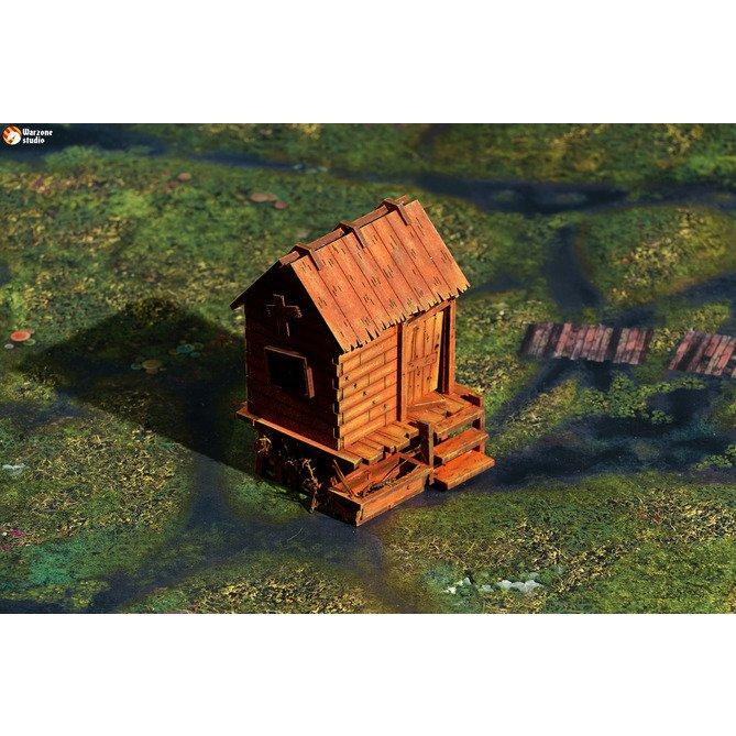 Wargaming terrain: Outcast - vector