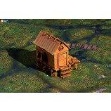 Wargaming terrain: Hermit - vector