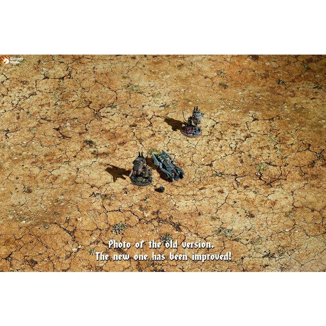バトルマット: コンクリート+砂漠の心