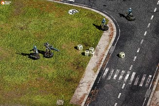 Battle mat: Suburban