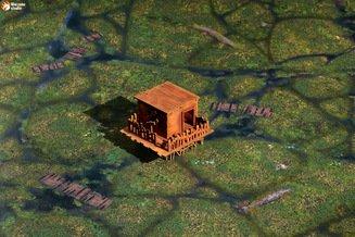 Варгейм-террейн: Swamp den