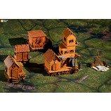 Wargaming terrain: Swamp Village