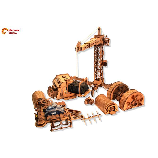 Wargaming terrain: Industrial Zone