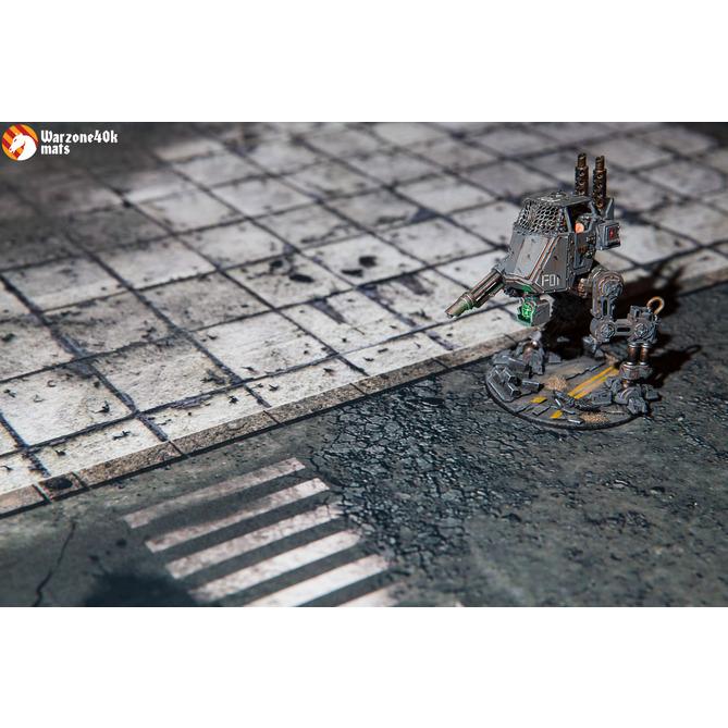 Battle mat: Concrete