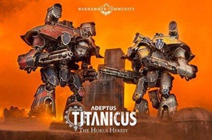Adeptus Titanicus reveal