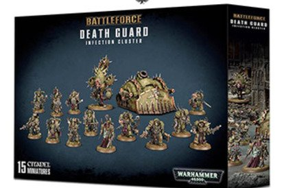 How to collect Death Guard with a new battleforce