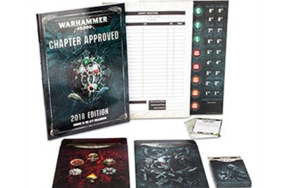 What do we want to see in Chapter Approved 2018