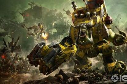 New Dawn of War 3 trailer. Orks!