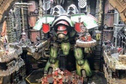 Warlord titan building