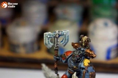 How to paint frost weapon