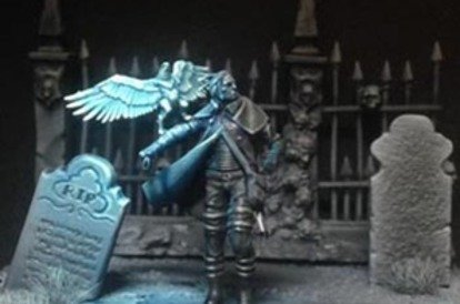 Iron painter competition
