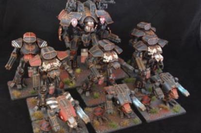 Awesome Legio Mortis miniatures