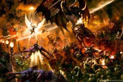 New and old Warhammer 40K arts