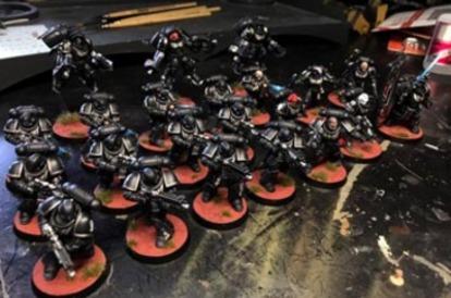 Primaris Marines miniatures