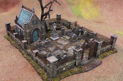 Graveyard terrain