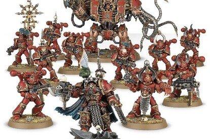 Start collecting Black Legion army