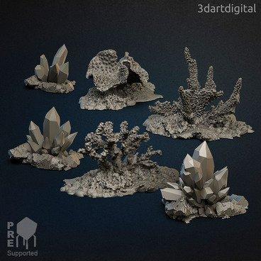 The Jeweled Reefs