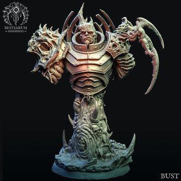 Raider Bust