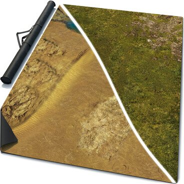 Double-Sided Battle Mat Constructor: Mouse Pad, Fabric