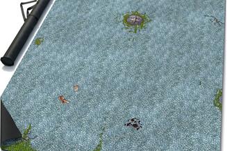 Battle mat: Town Square