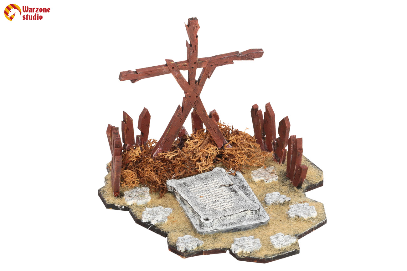 Wargaming terrain: Shrine