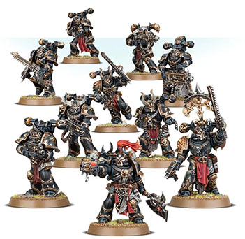 Everything about new Chaos tactical marines set